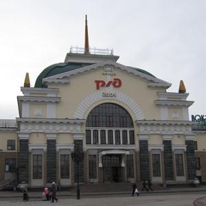 Железнодорожные вокзалы Усть-Чарышской Пристани